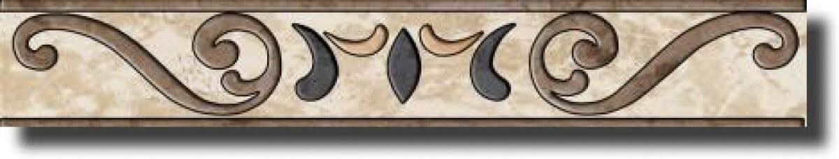 Ceramika Paradyż Salotto Salotto BEIGE Listwa 7,2x45 ...
