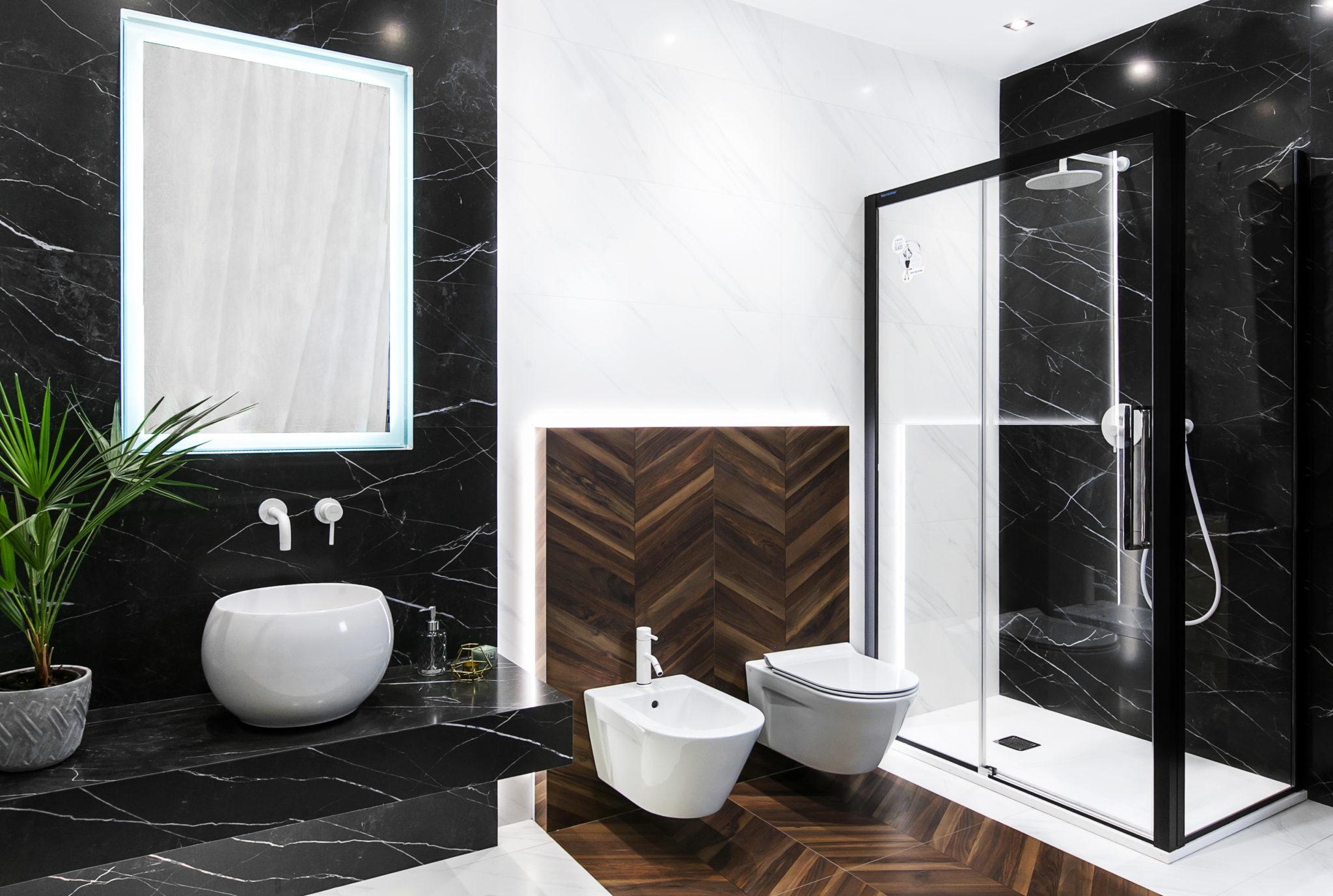 Drewno I Marmur Czyli łazienka W Nowoczesnym Wydaniu Viverto Blog