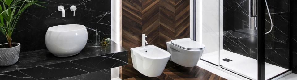 Drewno i marmur, czyli łazienka w nowoczesnym wydaniu ...