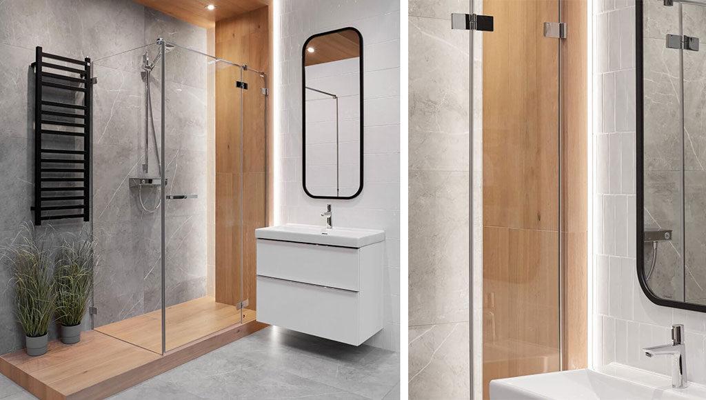 Urządzenie łazienki krok po kroku - aranżacja łazienki katania grey