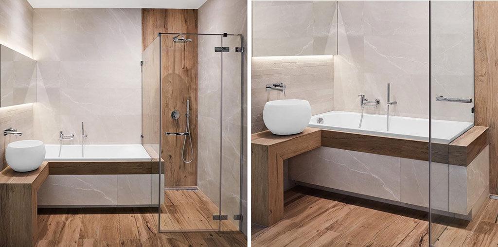 aranżacja projekt łazienki