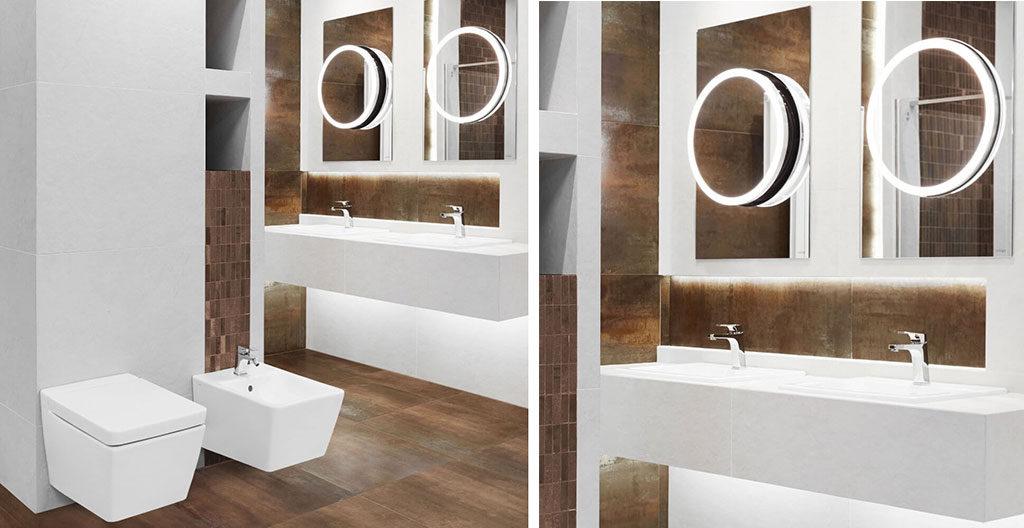 Urządzanie łazienek porady - aranżacja łazienki navi corten a