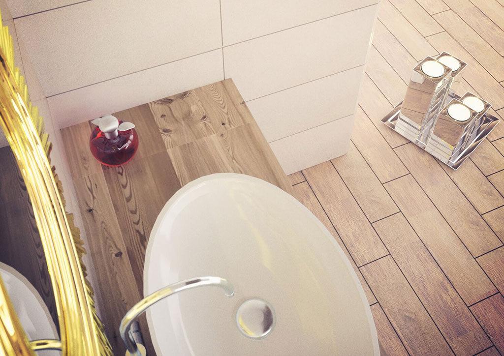 Urządzenie łazienki zdjęcie 3 - ceramica limone forest