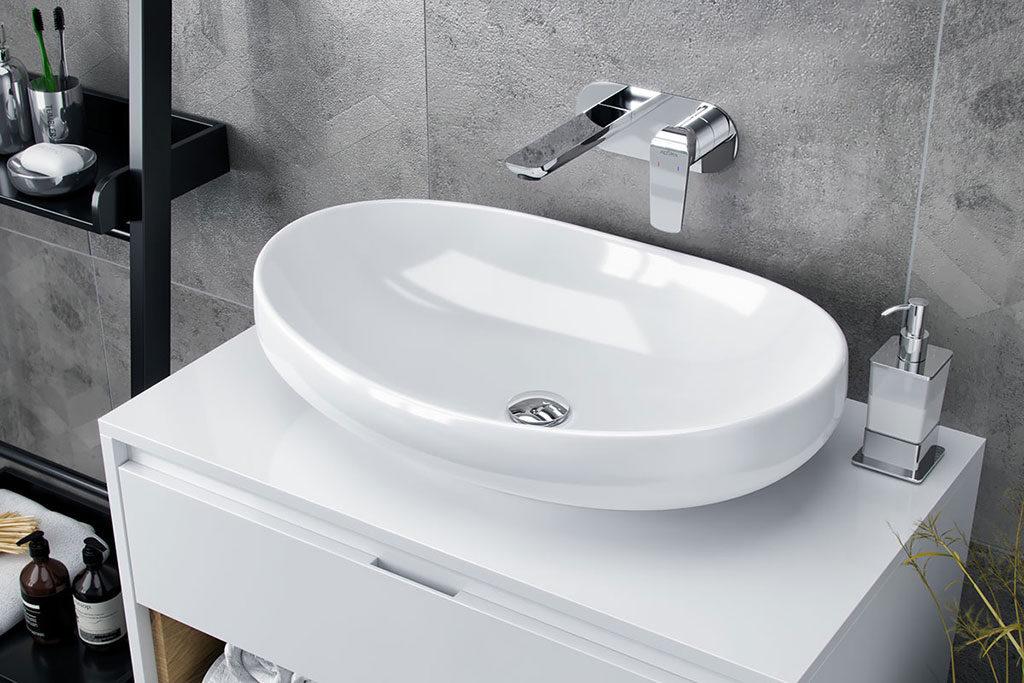 Urządzenie łazienki - filina umywalka nablatowa excellent