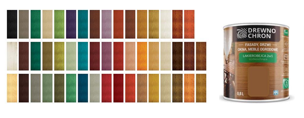 lakierobejca 2w1 do malowania mebli ogrodowych, fasad, drzwi i okien - drewnochron