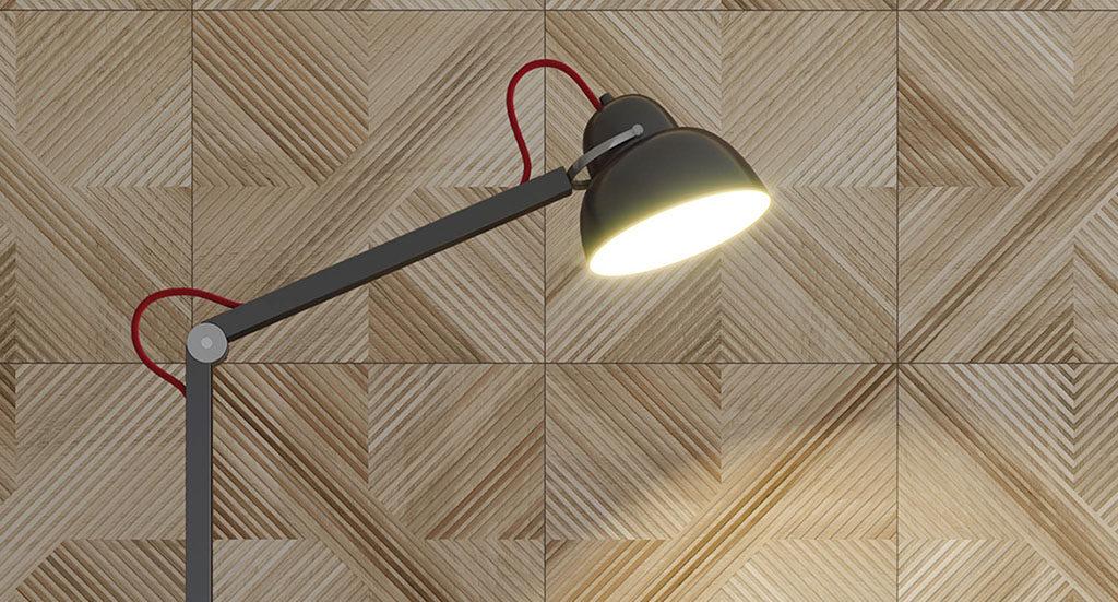 Płytki drewnopodobne 3D Tavola Beige