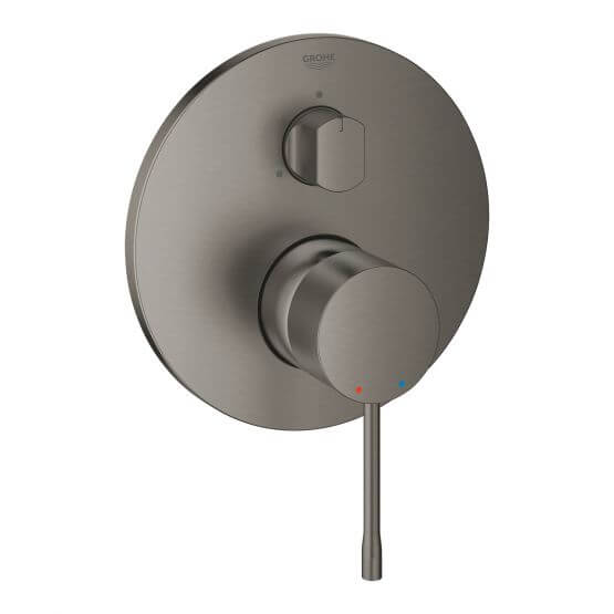 Bateria Do Obsługi 3-wyjść Essence Brushed Hard Graphite 24092AL1 Grohe