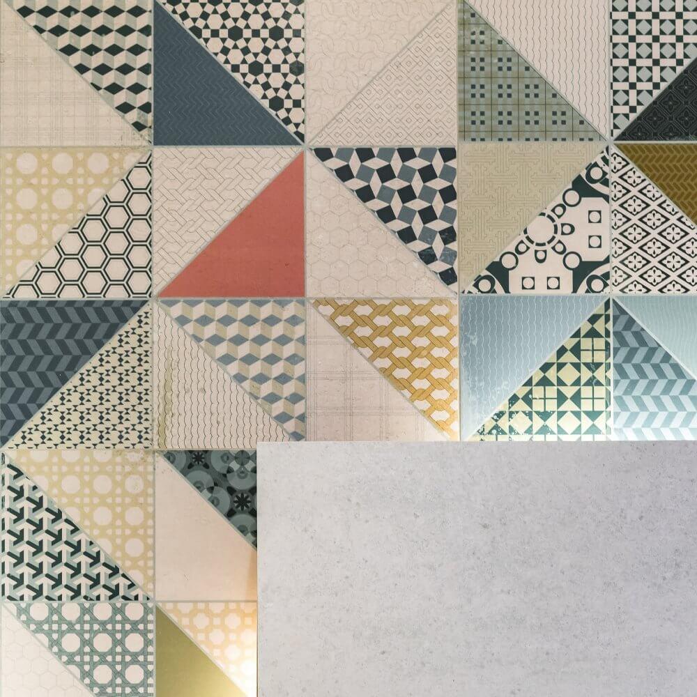 Cemento CIEMNOSZARA Rektyfikowana 60x60 Rako
