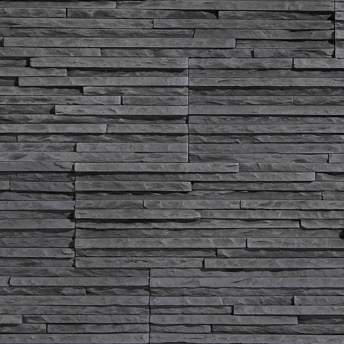 Stegu Kamień Elewacyjny Palermo 2 Graphite 55x142