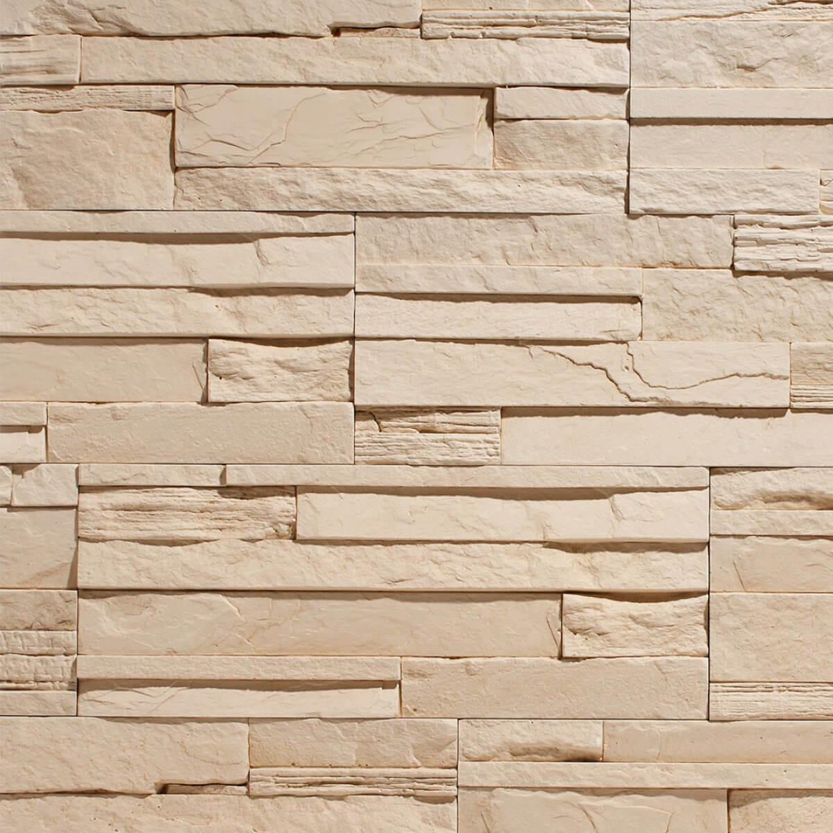 Stegu Kamień Dekoracyjny Creta 1 Cream 50x20