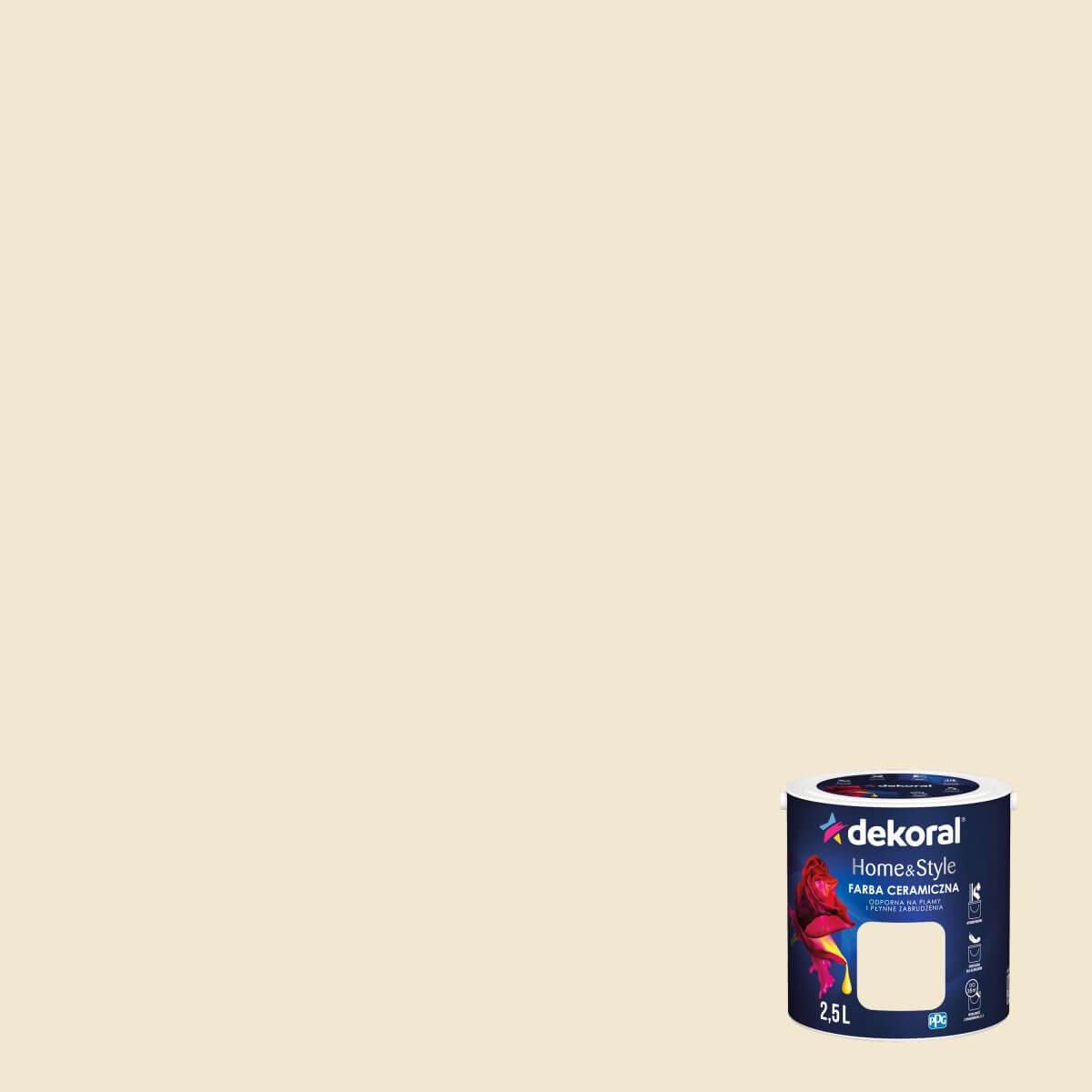 Farba Ceramiczna Homestyle Prosecco 25l Dekoral