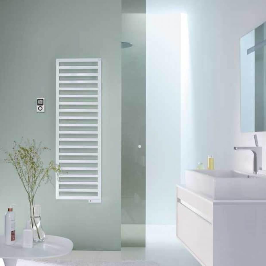 Grzejnik łazienkowy Quaro White Quartz 1400x450 Qa 140 045m0521 Zehnder