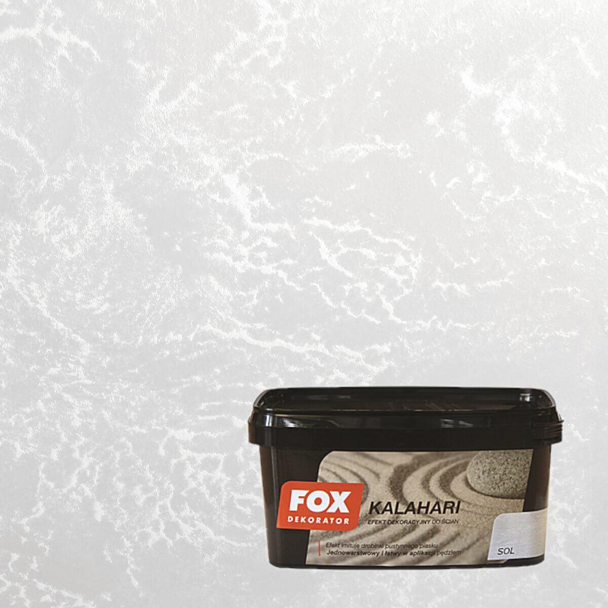 Farba Dekoracyjna Kalahari Sol 1l Fox