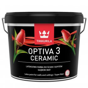 Farba Lateksowa Optiva Ceramic Super Matt 9L BazaA Tikkurila