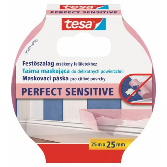 Taśma Malarska Perfect 25m x 25mm 56260-00003-01 Tesa